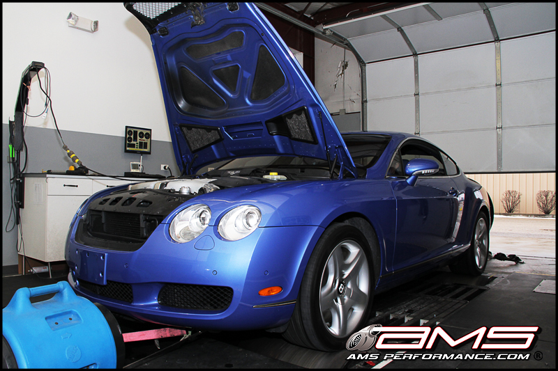 AMS Performance Bentley Dyno Tune AMS Archetype tune on a 2004 Bentley Continental GT