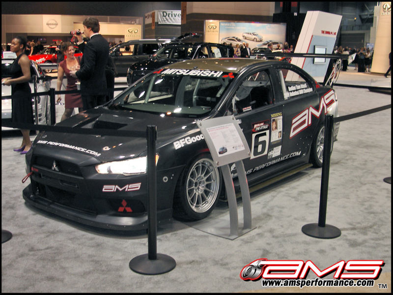 ams%20ta x%20chicagoauto%20show1 AMS Time Attack EVO X at the 2010 Chicago Auto Show