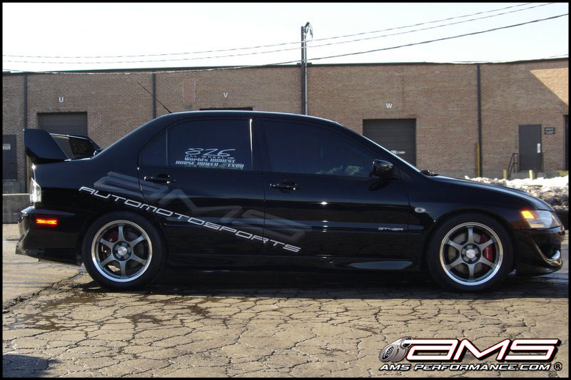 AMS Black Evo VIII From Florida Throwback