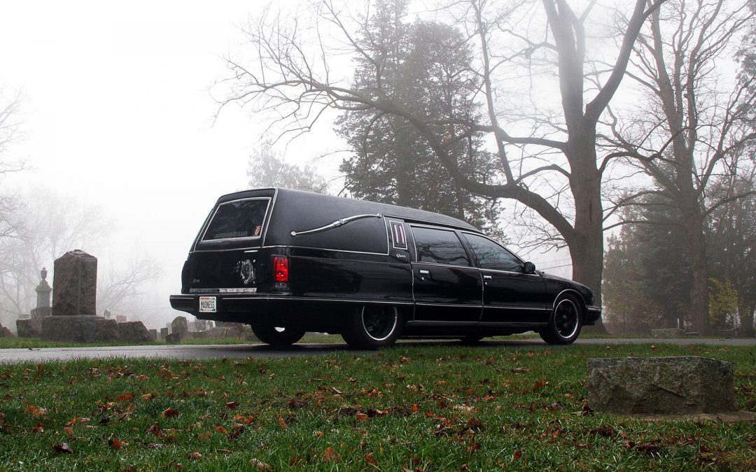 """AMS """"Madness"""" Hearse Makes its Rounds This Halloween!"""