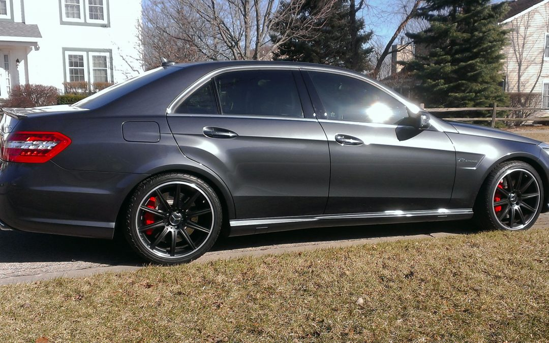 RWD E63 AMG Runs Low 11's With Alpha Tune