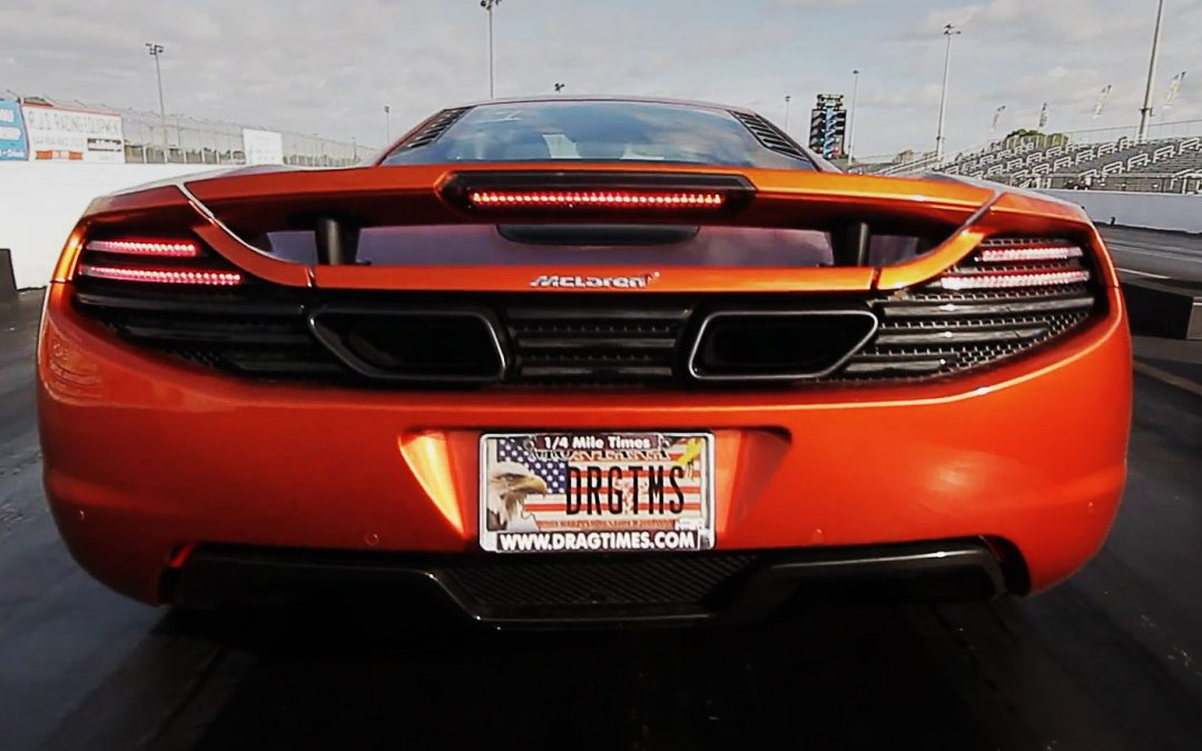 Alpha Tuned McLaren MP4-12C Takes 1/4 Mile Record!