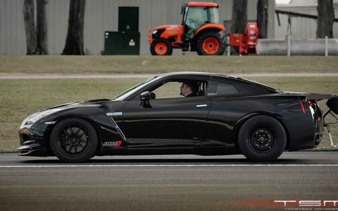 ALPHA OMEGA: 224mph GT-R World Record at Florida Wannagofast 1/2 Mile!