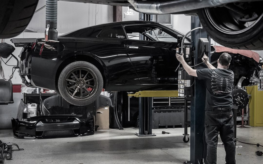 SPEED ACADEMY: What it takes to build the world's fastest GT-R – ALPHA OMEGA