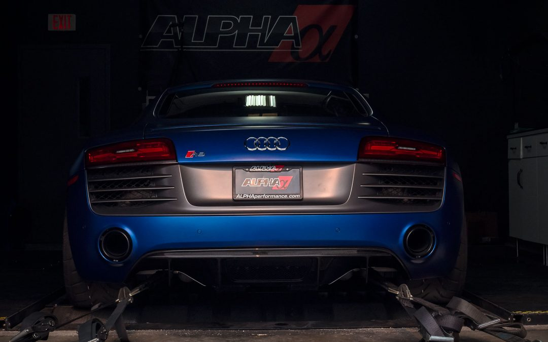 Alpha Performance Audi R8 V10 Twin Turbo