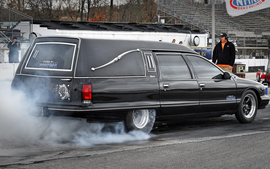 Hearse World Record Quarter Mile – 9.5 @ 146mph !