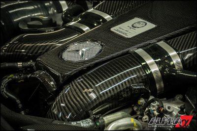 Alpha Performance Mercedes-Benz CLS550 AMG Carbon Fiber Intake System