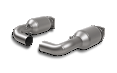 Akrapovic Porsche 997T Titanium High Flow Cat Link Pipe Set [L-PO997T/1]
