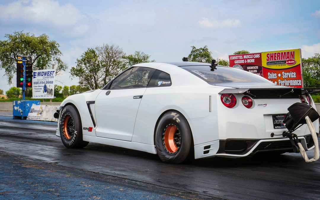 *Video* Alpha G Nissan R35 GT-R Drag Testing: Just Getting Started