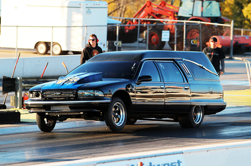 The Worlds Quickest & Fastest Hearse: AMS 'Madness'
