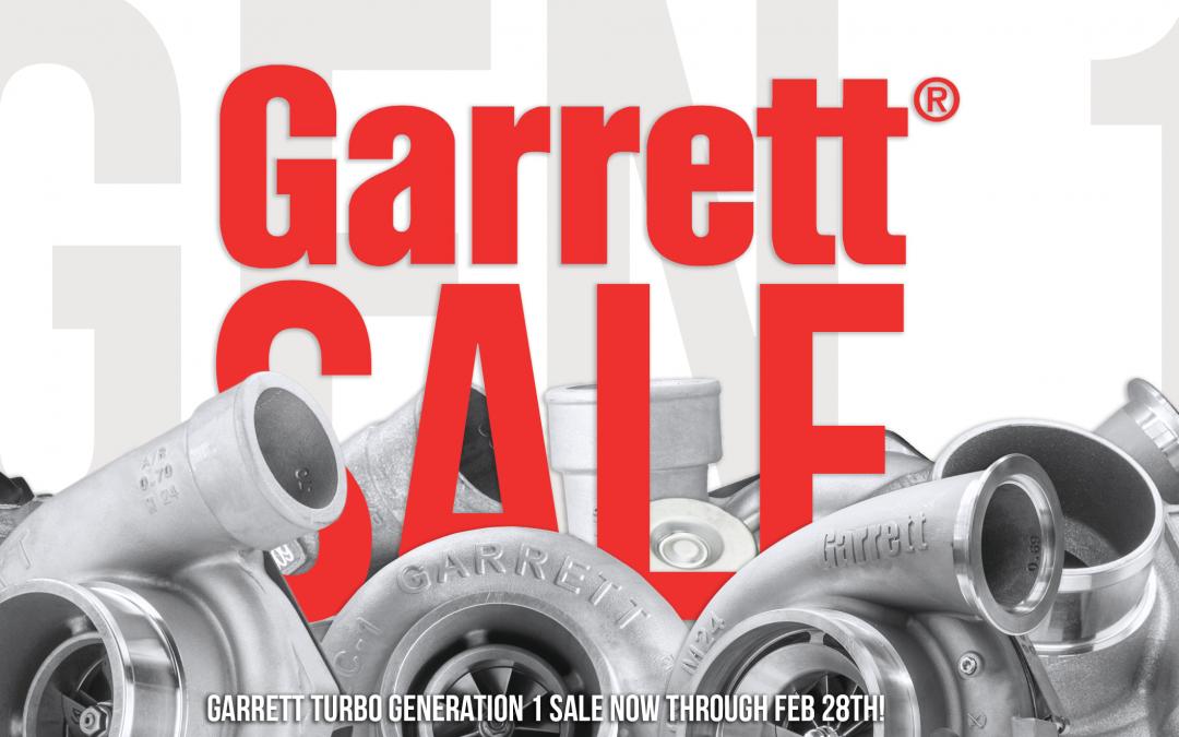 February Garrett Gen 1 Sale