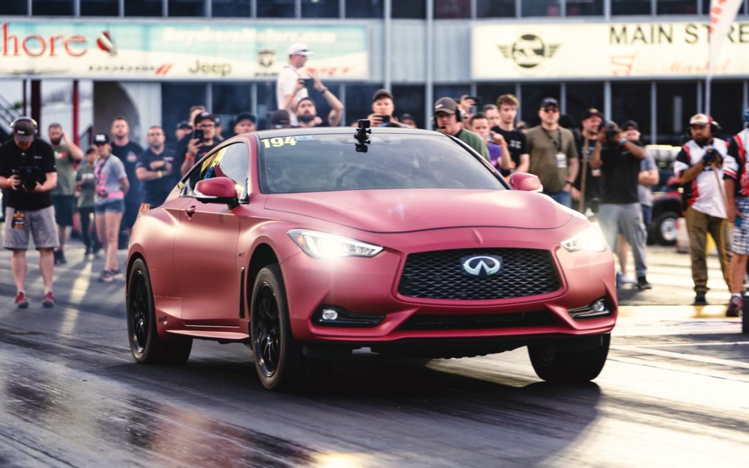 First VR30 in the 9's! The Red Alpha Q60 goes 9.96 @ 139 in the quarter mile!