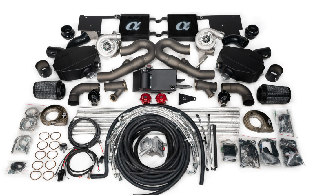 The Alpha V10 Turbo Kit