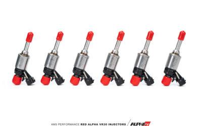 Red Alpha VR30DDTT Kinetic Direct Injectors