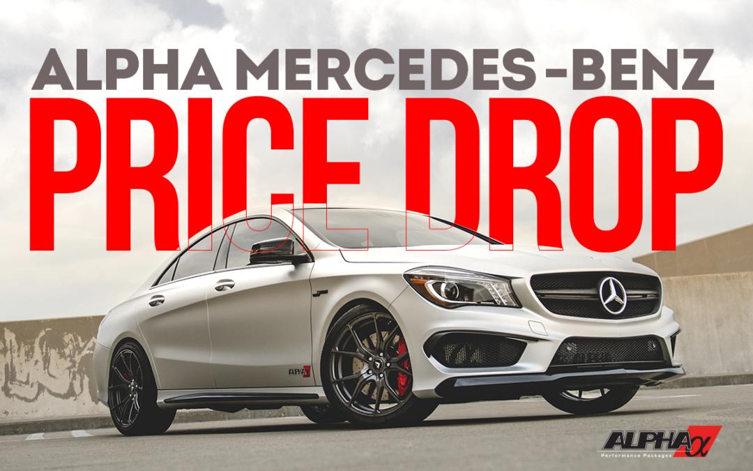 The Alpha Mercedes Benz Price Drop